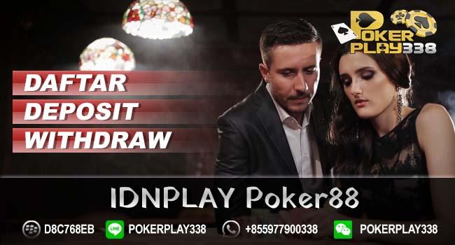 Daftar IDN Poker88
