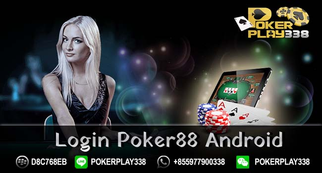 Login Poker88 Android2